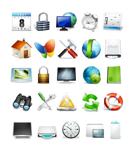 Instalar iconos en windows vista iorigen - Iconos para escritorio windows ...