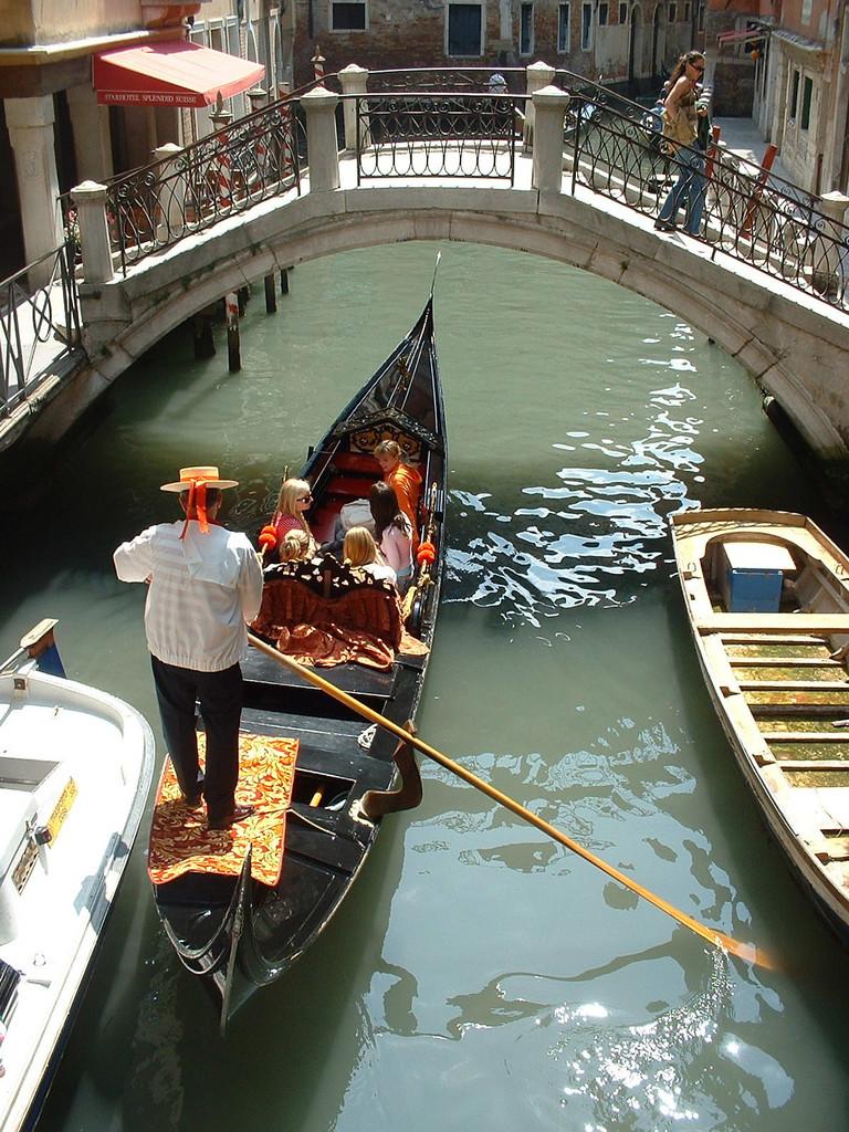 Gondola en Venezia