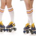 mujer patines