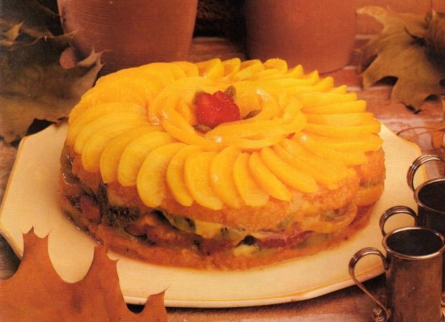 Torta de duraznos 6