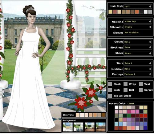 ▷ diseña tu vestido de novia online y gratis ⋆ iorigen