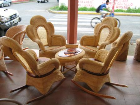 Famoso Muebles De Ratán Pintura Embellecimiento - Muebles Para Ideas ...