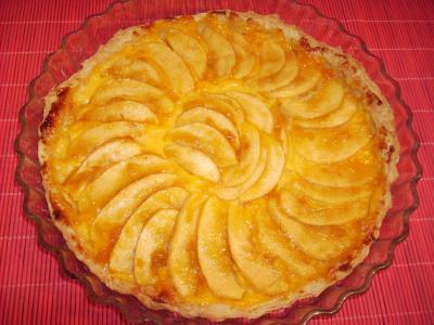 Tarta de Manzana Nevada, Tarta de manzana, tarta, manzana, receta argentina.