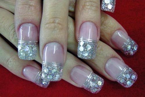 francesa en uñas