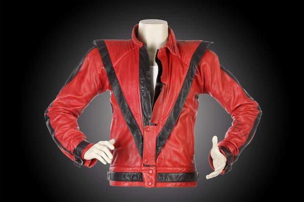 Saco de Michael Jackson en Thriller, Saco, Thriller, Rey del pop, Michael Jackson.