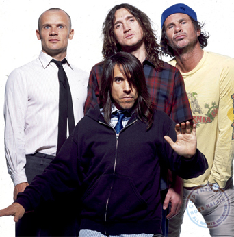 Red hot chili peppers, Rock.