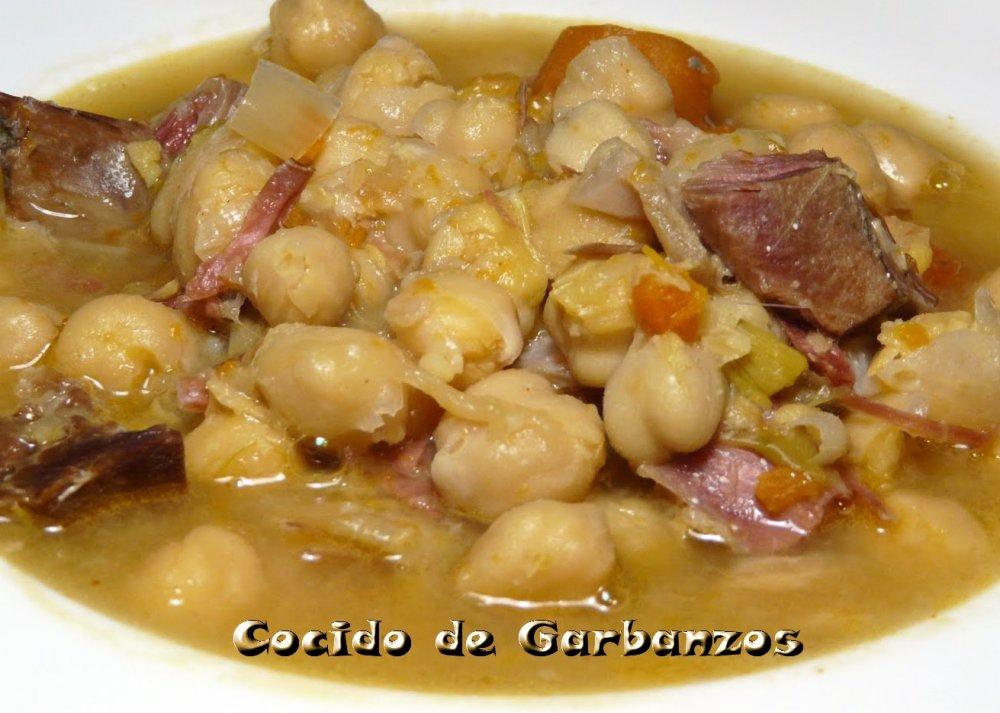 Cocido de garbanzos iorigen - Preparacion de garbanzos cocidos ...