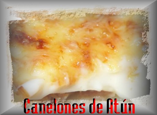 Canelones de at n iorigen - Canelones en microondas ...