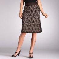Faldas en tallas grandes estampada de LaReudoute
