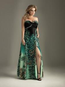 Vestido estampado tallas grandes