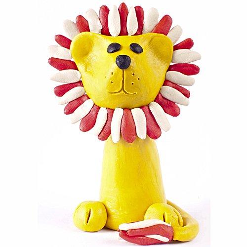 leon de plastilina