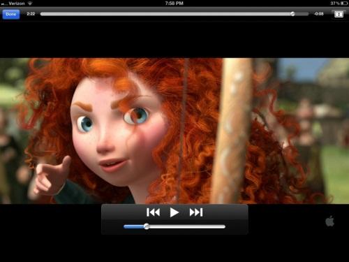 Brave-itunes movie trailer
