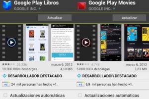 google play libros movie music