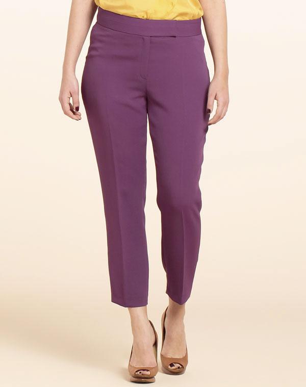 Pantalones tonos malva