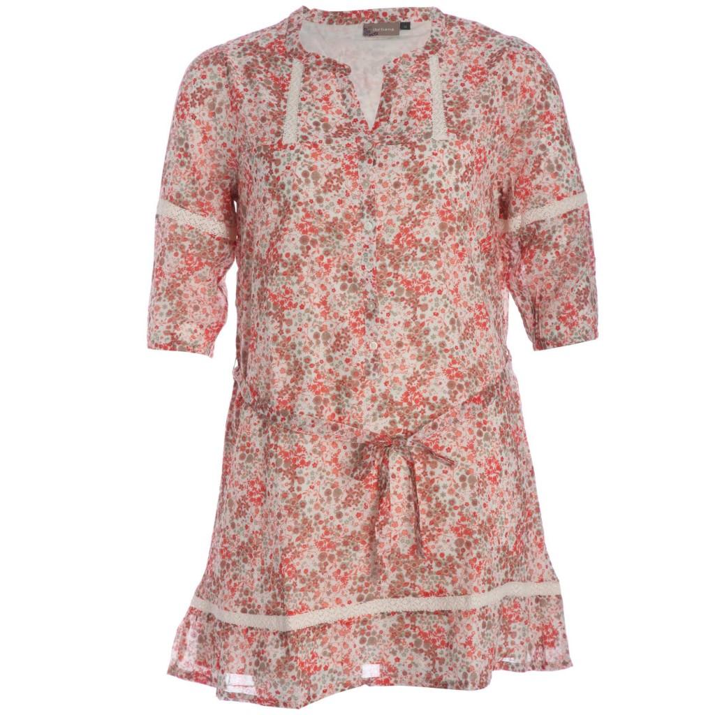 Vestido corto estampado floral de Kiabi
