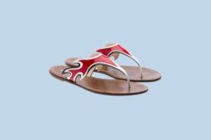 Las sandalias planas de Prada 7