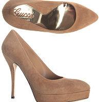 Las sandalias nude y plataformas de Gucci 3