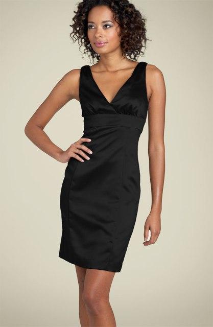 Como transformar un vestido negro