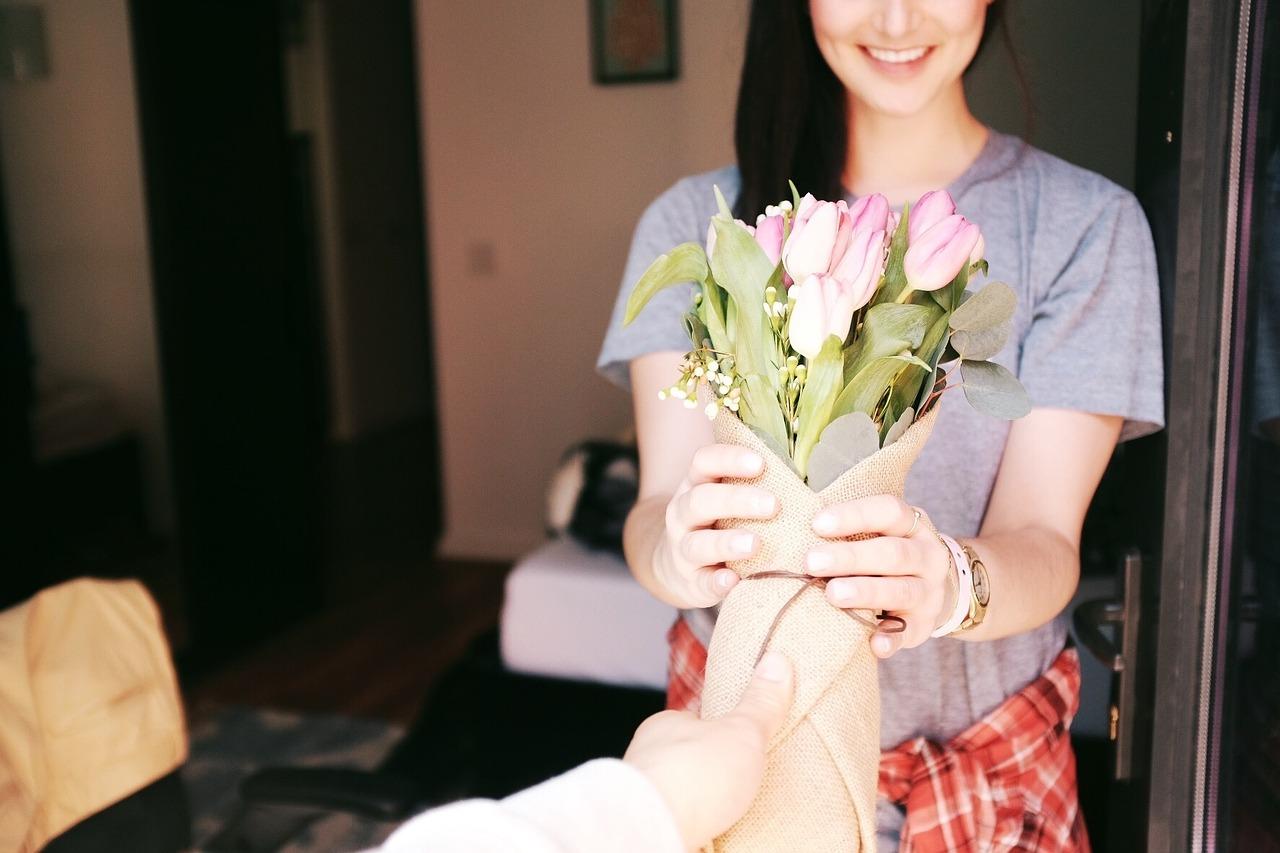 regalo ramo flores