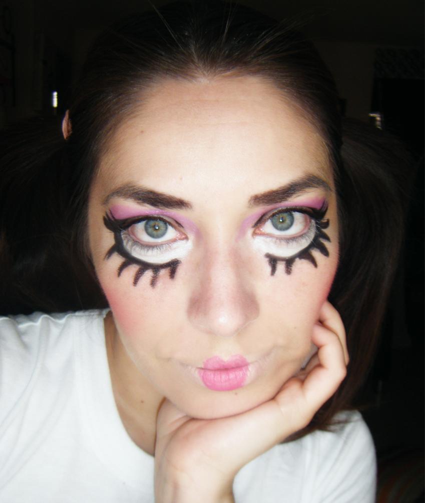 Maquillaje de halloween mueca iOrigen