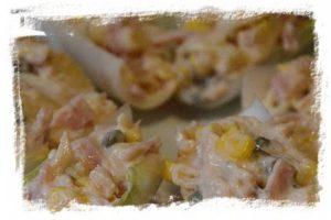 Endivias con ensalada de atún (ensalada navideña) 5