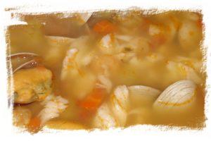 Sopa de Marisco (Plato principal Navidad) 4