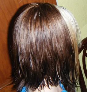 cabello bicolor