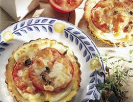 Recetas vegetarianas fabulosas, tartaleta de patatas con salsa pesto 3