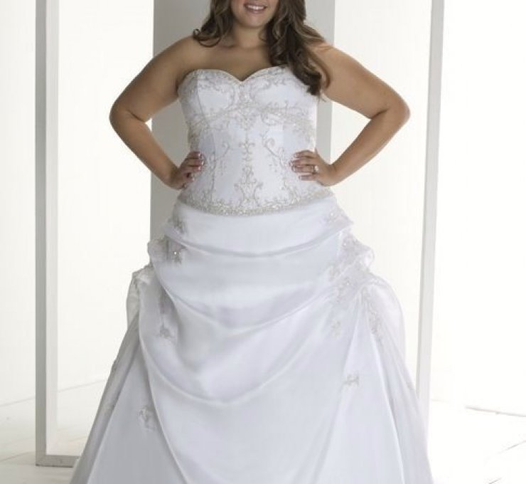 Vestidos de novia para gorditas xxl