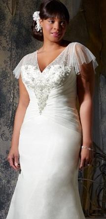 Vestido de novia para gorditas