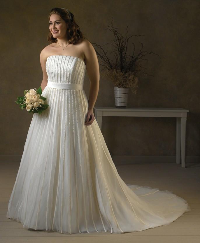 Vestidos de novia para mujeres talla grande