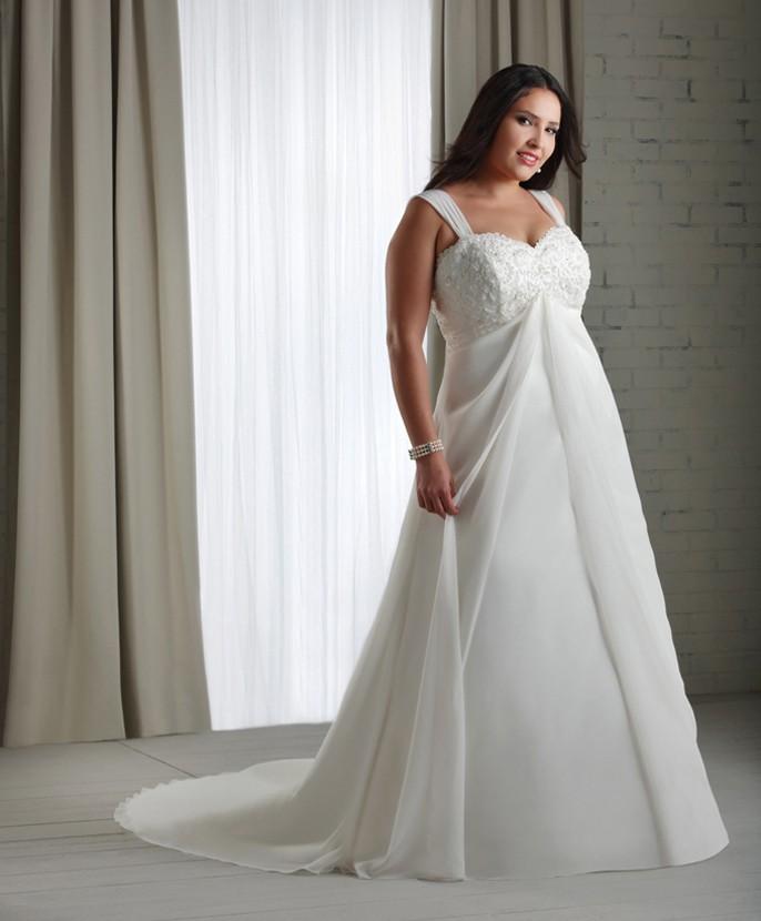 Vestidos de novia tallas chicas