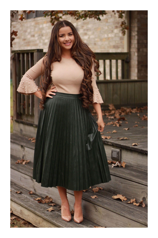 combinación vestidos colores faldas
