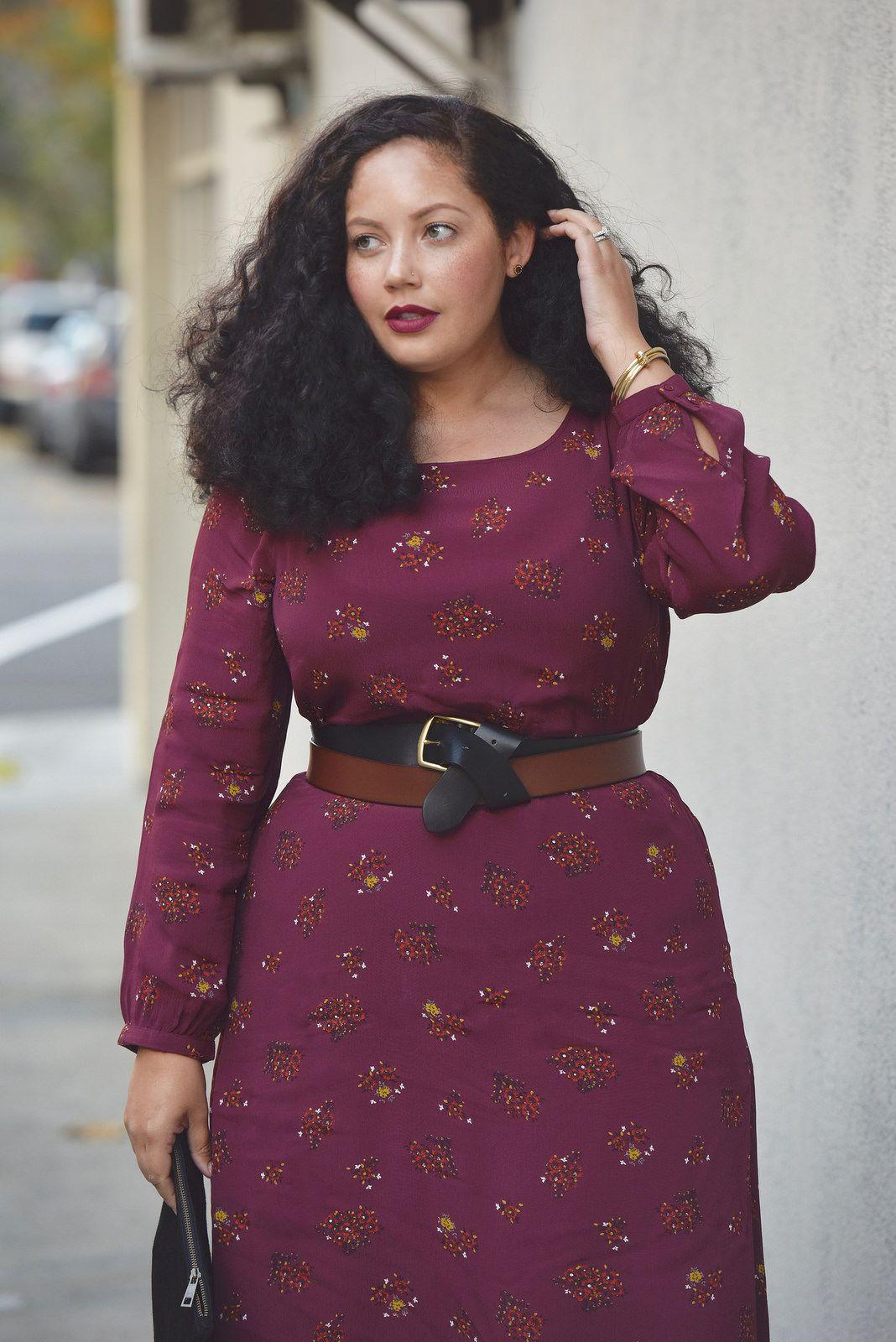 combiar cinturón con vestido talla grande