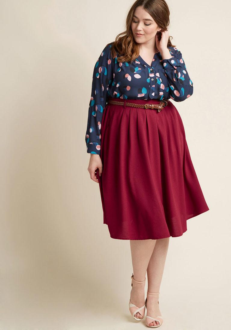 falda blusa colores