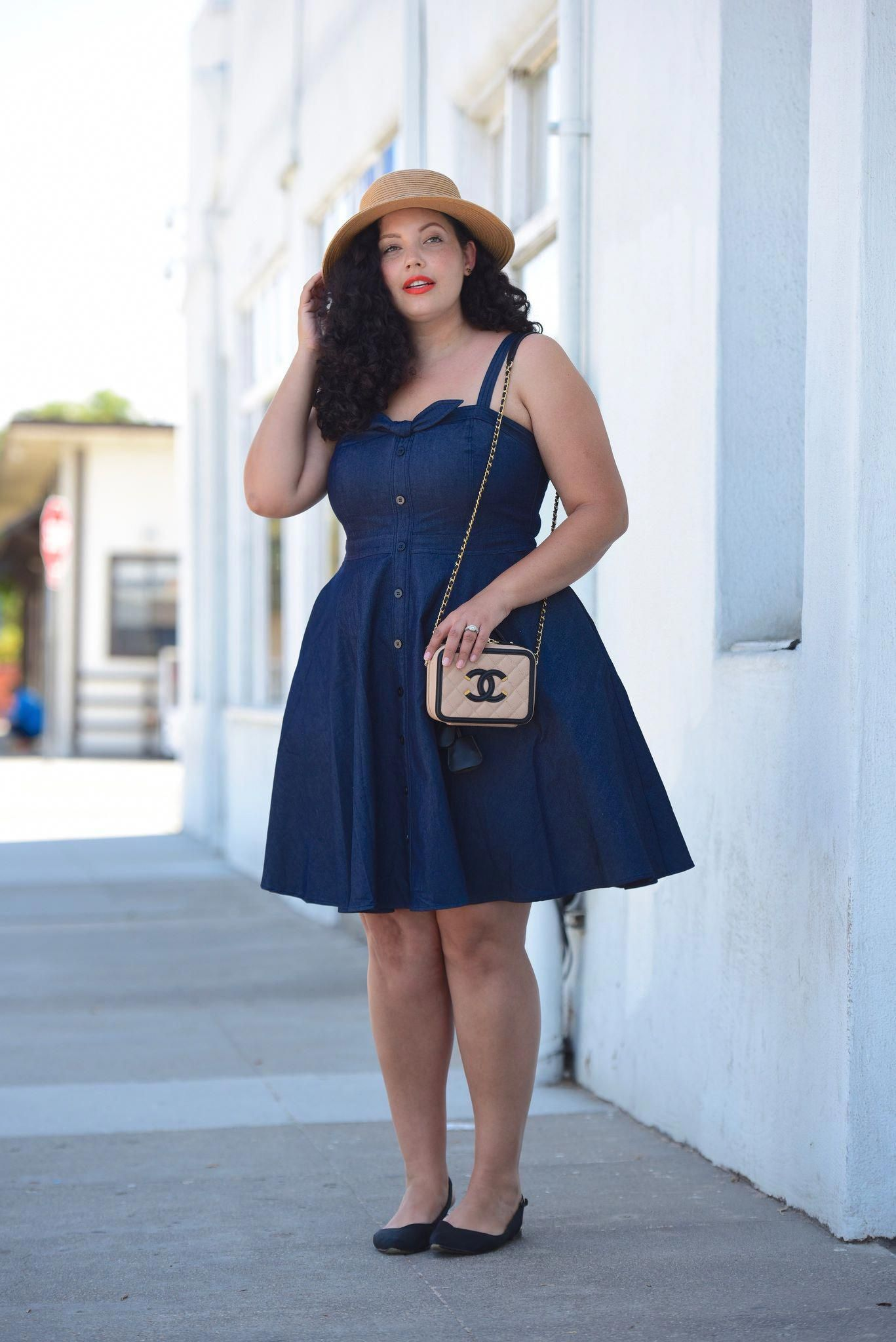 Trendy plus size fashion for summer