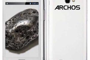 Archos ratifica sus tres primeros smartphone 6