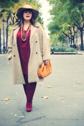 Vestido casual para mujeres con libritas de más 1