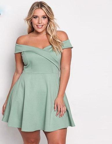 vestido corto xxl