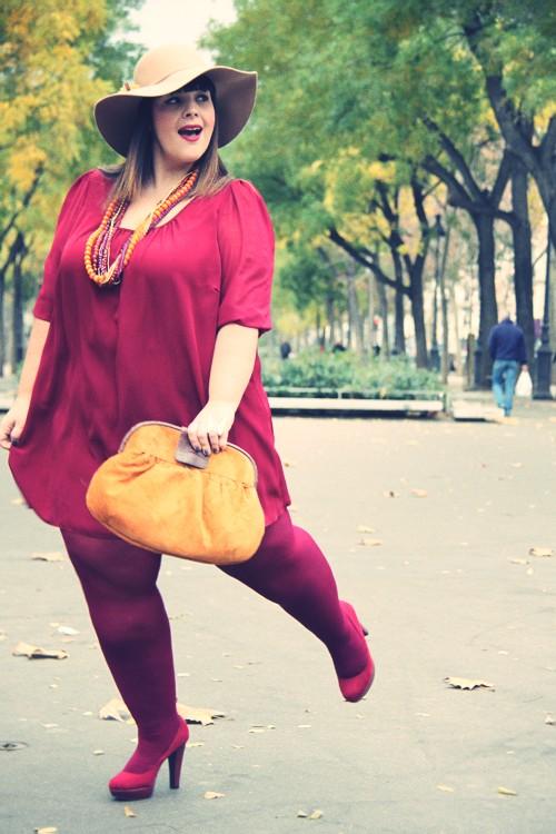 Vestido casual para mujeres con libritas de más