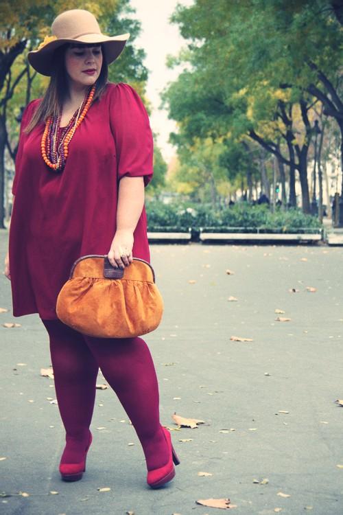 Vestido casual para mujeres con talla grande