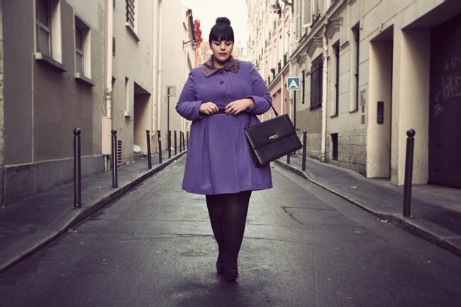 El lila, color perfecto para vestidos en talla grande