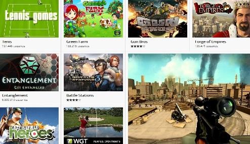 Juegos de Google Chrome
