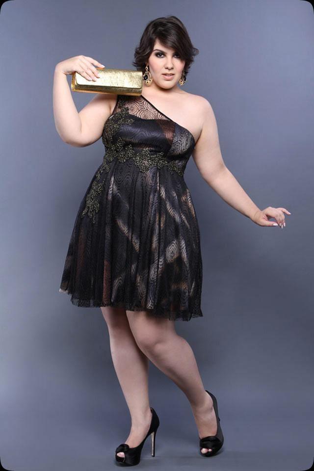 Cómo vestirme para un fiesta si soy gordita
