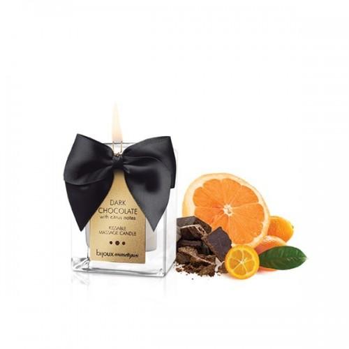 dark chocolate vela de masaje Bijouxindiscrets