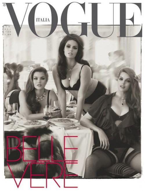 Portada Vogue Italia Junio 2011