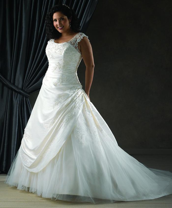 Vestidos de novia para talla plus