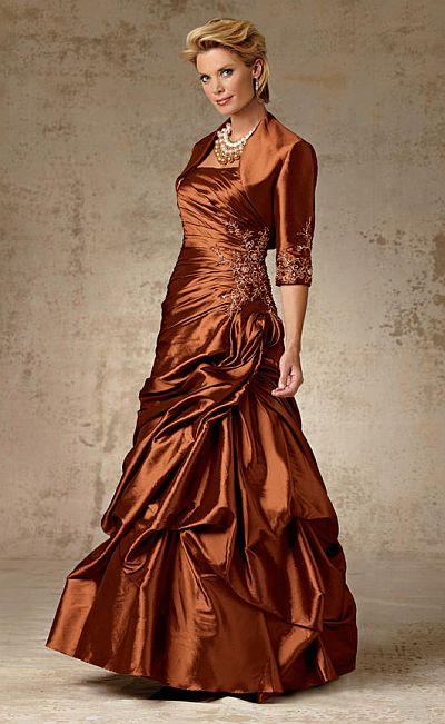 Vestido para dama de honor en talla grande