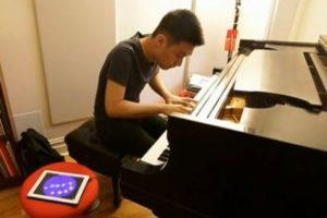 iPad y piano
