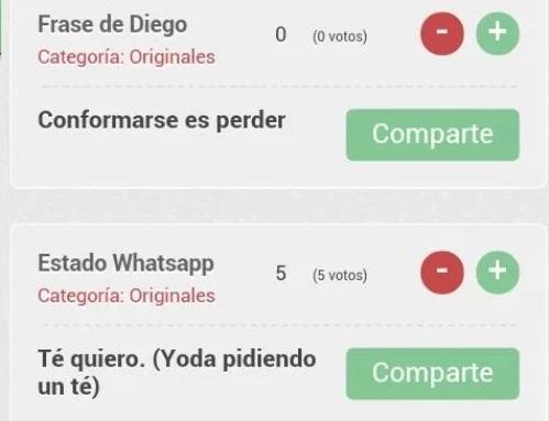 3 estados frases whatsapp news apps